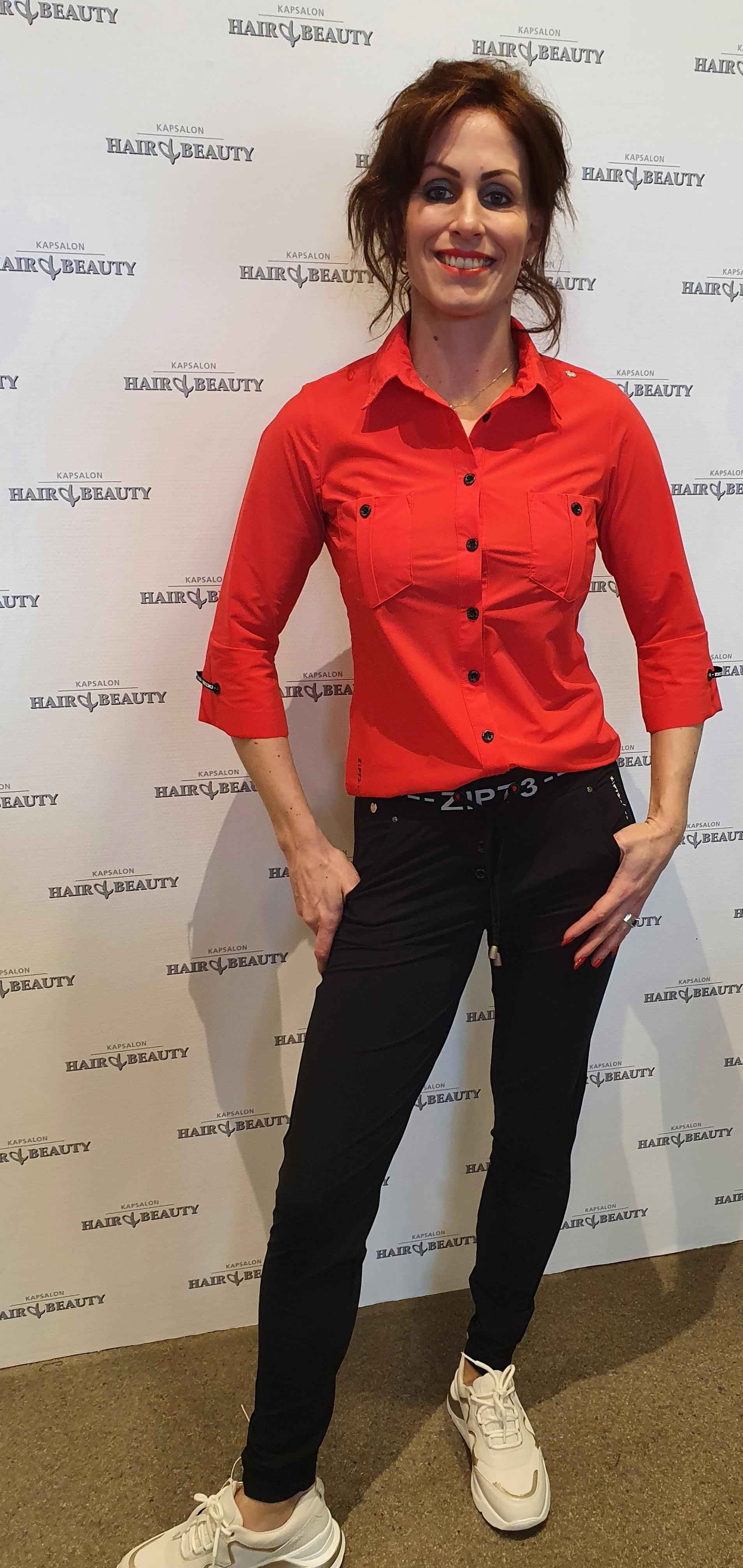 blouse rood vk 1