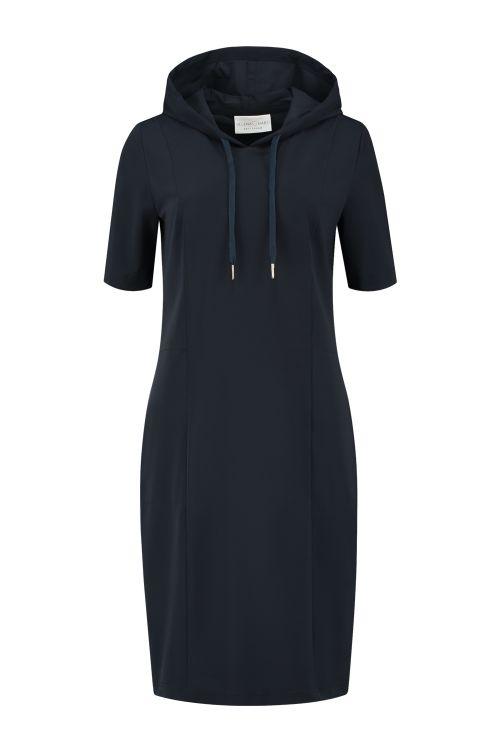 jurk hoodie marine vk